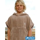 Terry Rich Australia Kinder Surf Poncho Stone