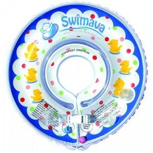 Swimava Baby Zwemkraag blauw/eendjes
