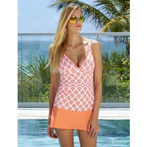 Cabana Life UV Skirt Coral