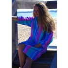 Back Beach Co Coral Fade Swim Beach Robe for women
