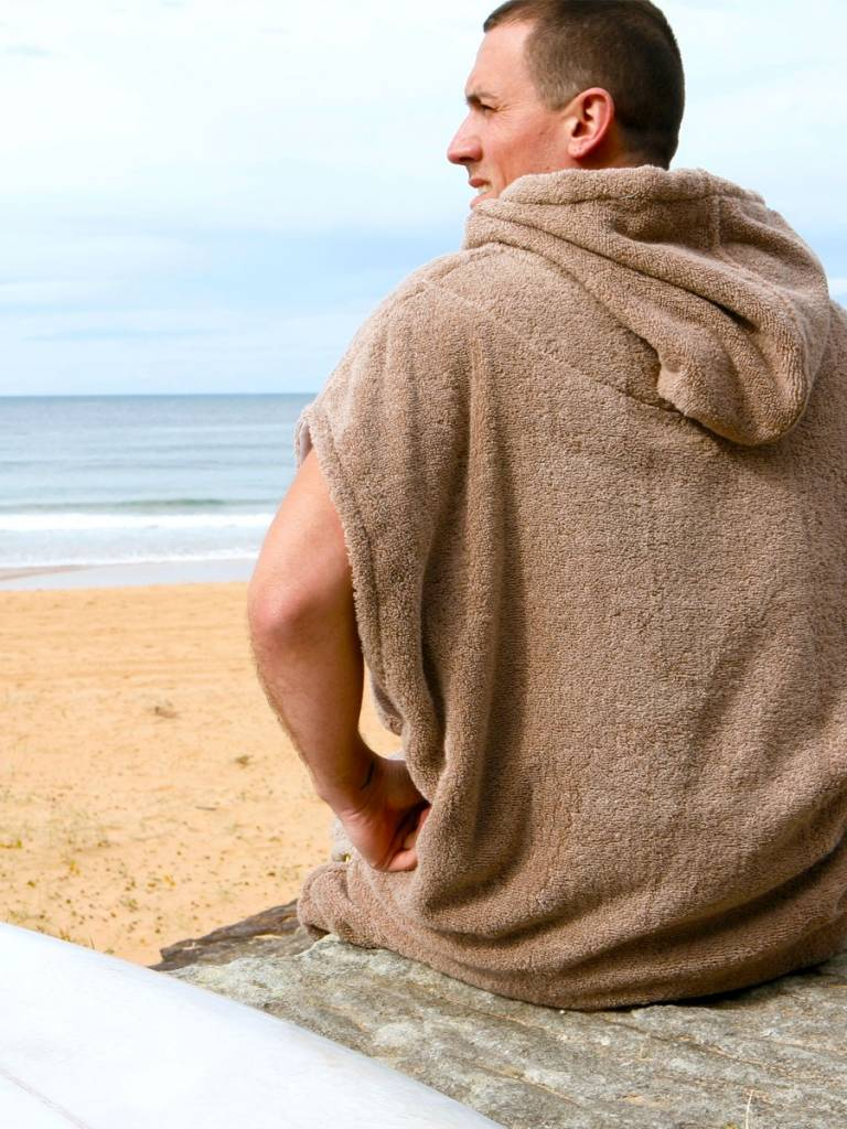 237bec538f Terry Rich Australia Surf Poncho Changing Robe Stone Destination