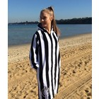 Back Beach Co Classic Stripe Swim Beach Robe for women