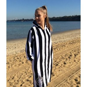 Back Beach Co Classic Stripe Swim Beach Robe for women