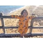 Back Beach Co Kids Beach Robe Blue Stripe - Copy