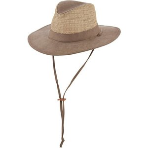 Dorfman Pacific UV Hat Fedora Safari - Copy