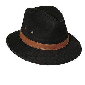 Dorfman Pacific UV Hat Fedora Black
