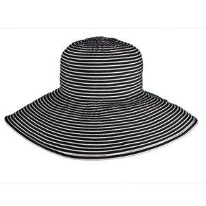 Dorfman Pacific UV Zonnehoed Zwart-Wit