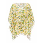 Snapper Rock Kaftan Lemon