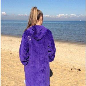 Back Beach Co Opulence dames badjas met capuchon