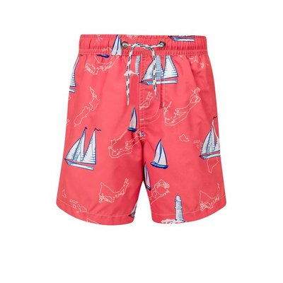 Snapper Rock Father & Son Swimshort Island Sail