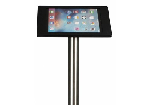 Bravour Floorstand black/steel Apple Pro 12.9 acrylic holder