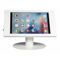 Para Apple Pro 12.9, Fino, Carcasa en acrílico y pedestal en acero pintado blanco