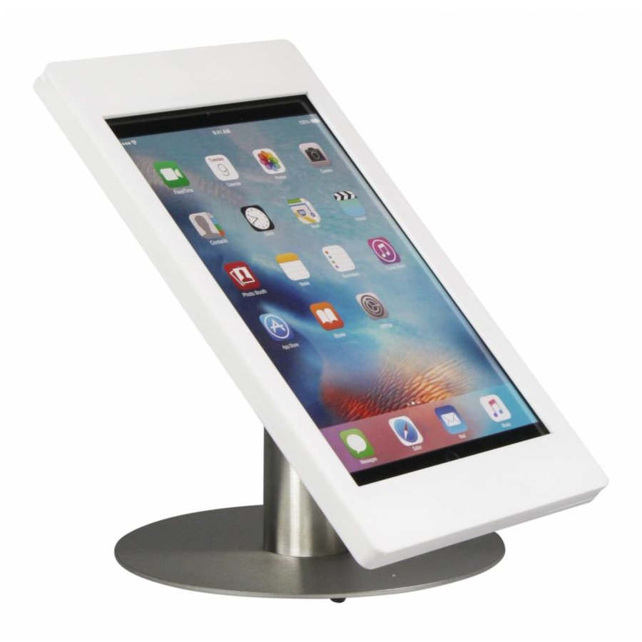 """iPad Pro 12.9"""" desk stand  Fino white/stainless steel"""