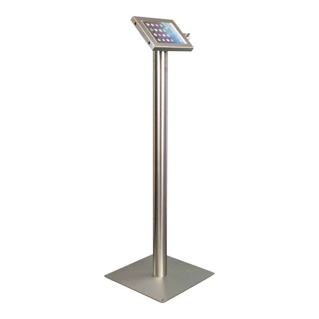 Tablet Floor Stand Securo 7 8 Inch Stainless Steel