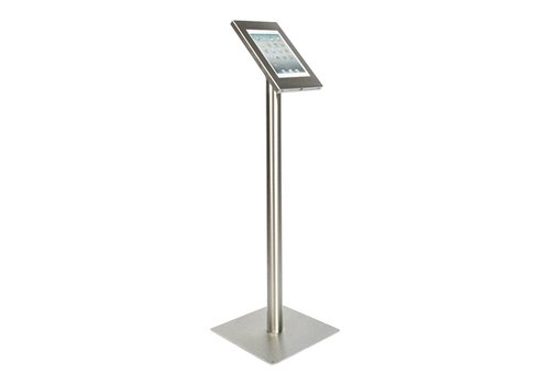 Bravour Tablet floor stand Securo 9-11 inch stainless steel lockable