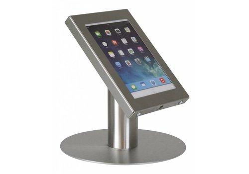 Bravour Tafelstandaard, RVS, voor 7 tot 8 inch tablets, Securo, afsluitbaar