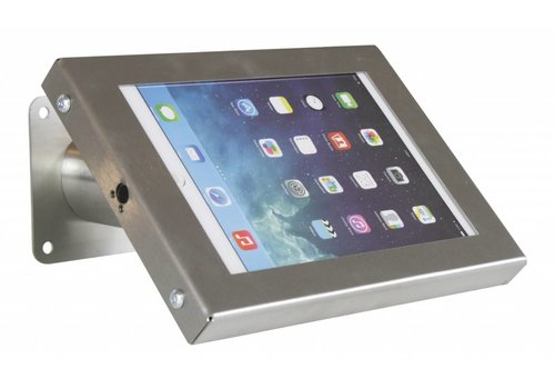 "Bravour Soporte de tablet pared / escritorio, acabado acero inoxidable 7- 8"" tablets; Securo"