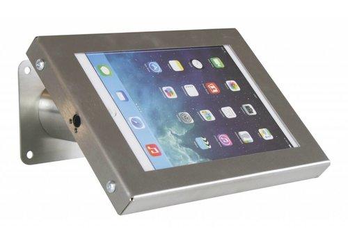 """Bravour Soporte de tablet pared / escritorio, acabado acero inoxidable 7- 8"""" tablets; Securo"""