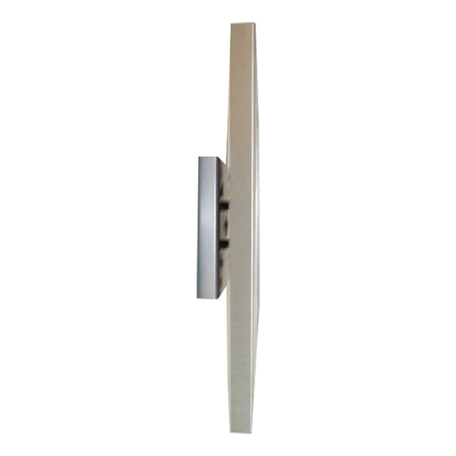 Wall mount flat to wall stainless, suited for tablets between 7 and 8 inches. Securo metal holder with optional lock