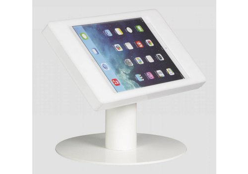 Bravour Soporte de escritorio para iPad Mini, blanco, Fino