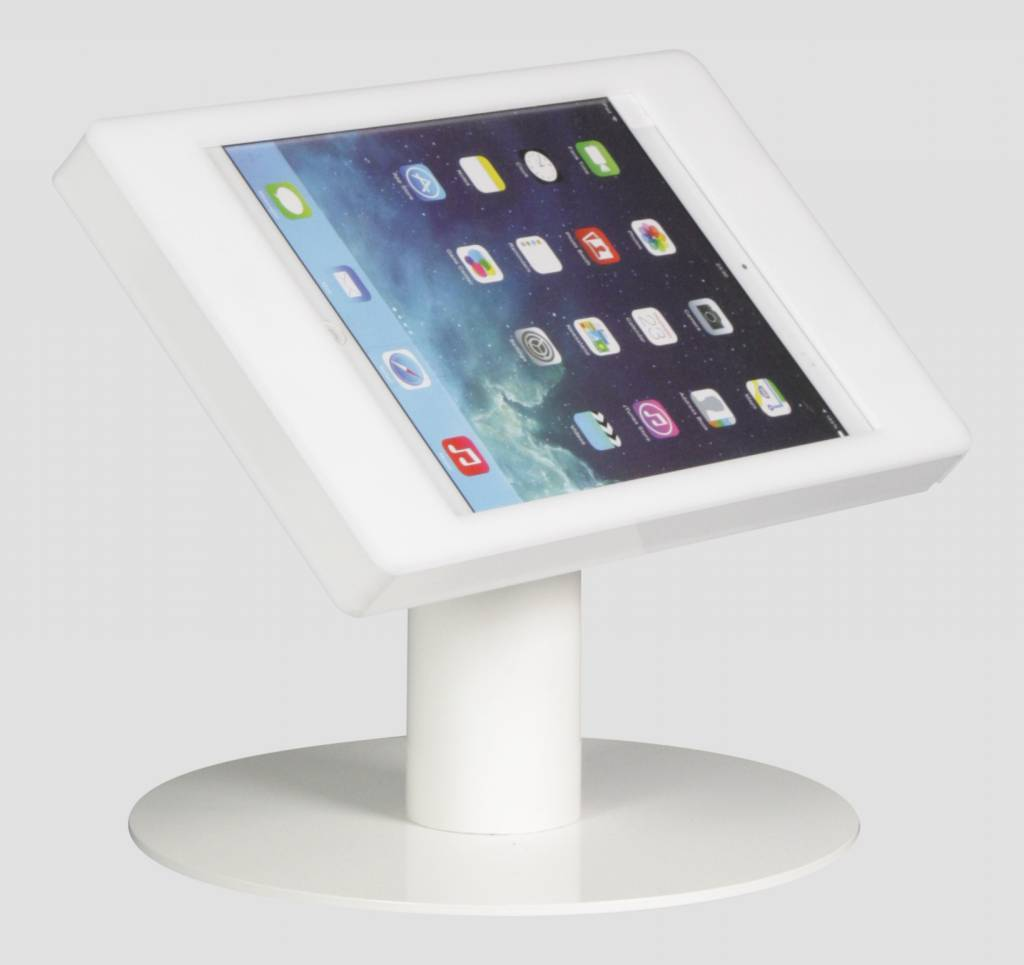 Ipad Mini Desk Stand Fino White Exhibishop