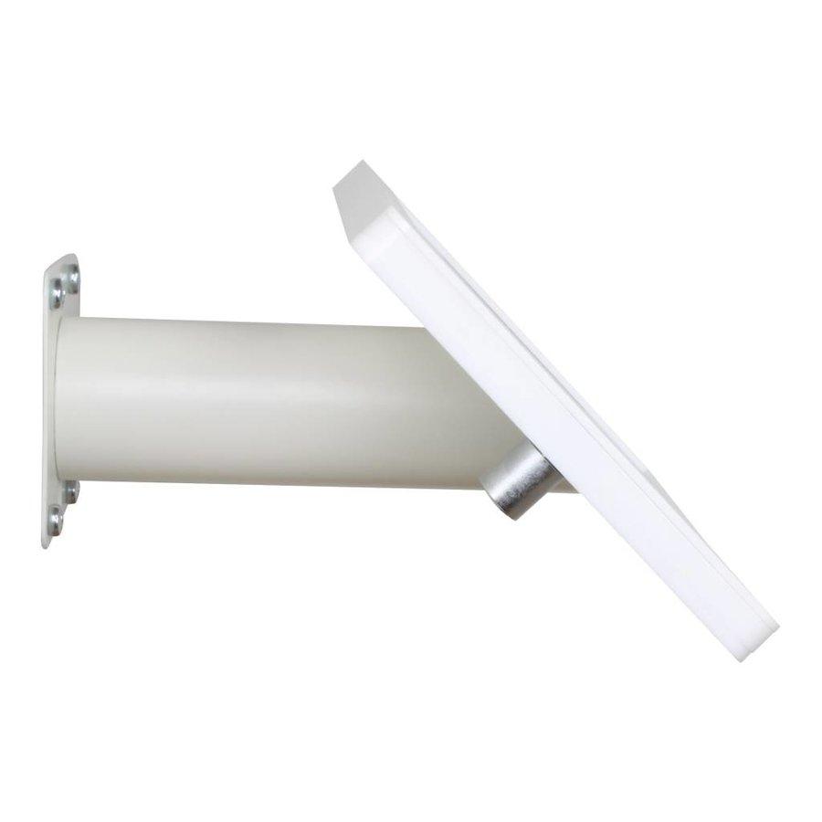 iPad mini wall or desk mount Fino white, with luxury acrylic tablet casing dedicated to the iPad mini.