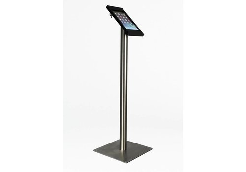 Bravour iPad mini floor stand Fino black / stainless steel