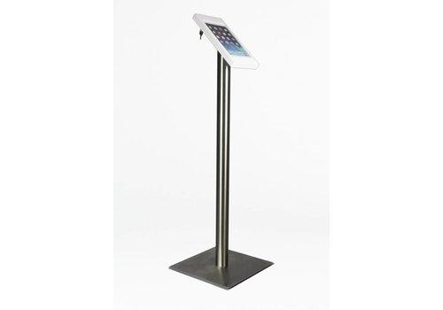Bravour iPad mini floor stand Fino white / stainless steel