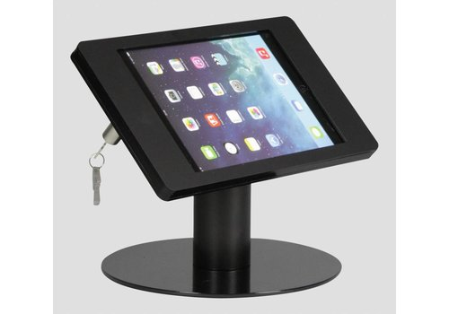 Bravour Soporte de escritorio para iPad Mini, negro, Fino