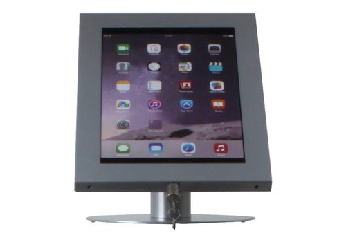"""Bravour Soporte de escritorio gris para tabletas entre 12-13 """" Securo"""