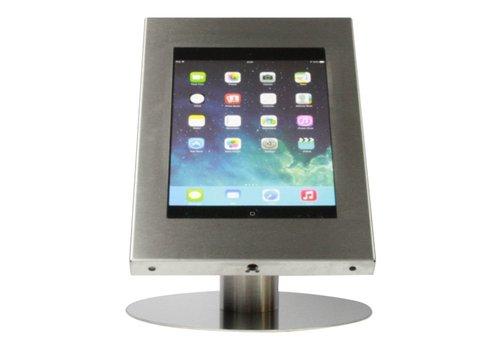 """Bravour Soporte tablet de escritorio acabado acero inoxidable para tabletas entre 12 - 13 """" Securo"""