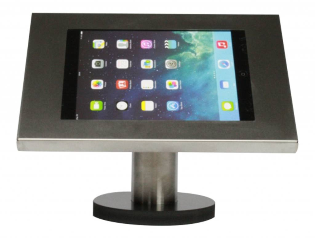 Tablet Houder Tafel : Ipadhouder voor ipad ipad air securo inch rvs