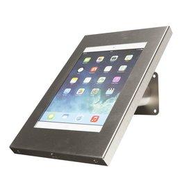Ergo-AV Tablet desk or wall mount Securo 9-11 inch stainless steel