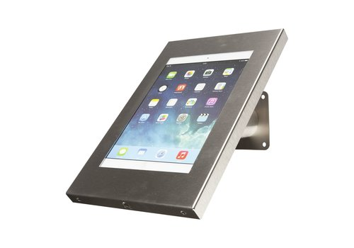 Bravour Tablet wall and desk stand Securo 9-11 inch stainless steel, lockable