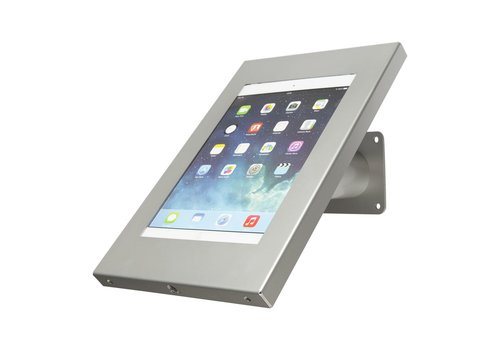 Bravour Tablet wand- en tafeldisplay, grijs, voor 9 tot 11 inch tablets, Securo, afsluitbaar
