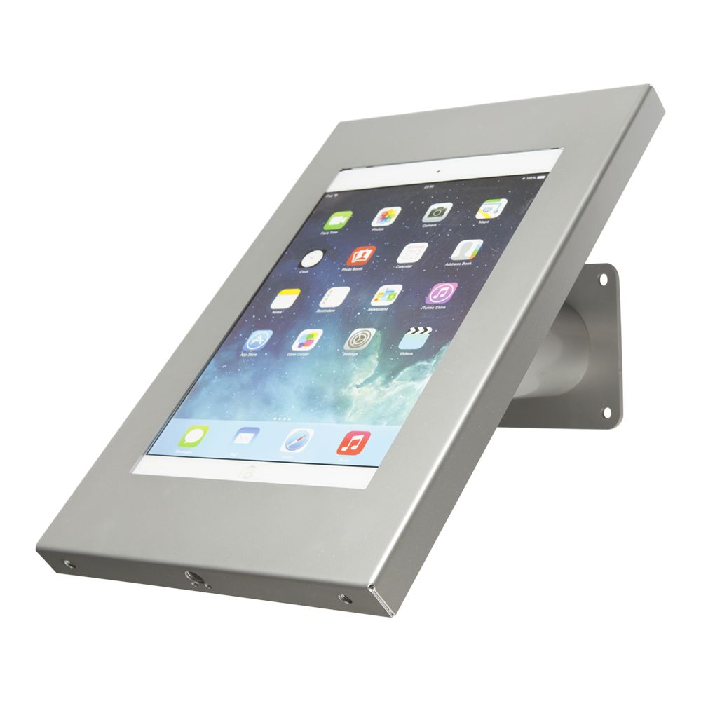 Tablet wall and desk mount securo 9 11 inch grey lock for 11 inch table