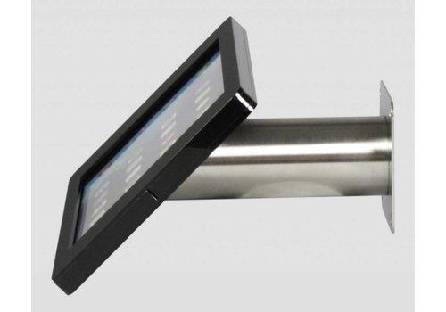 Bravour Soporte iPad pared/escritorio para iPad Pro 12.9, negro/acero, Fino