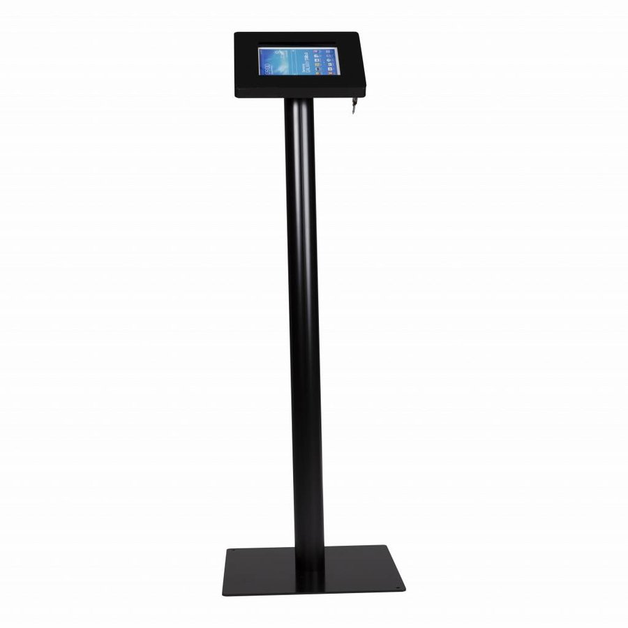 Tablet floor stand Meglio cassette 7-8 inch  white/black