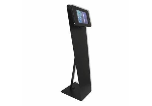 Bravour Vloerstandaard zwart voor tablets tussen 7-8 inch, Kiosk