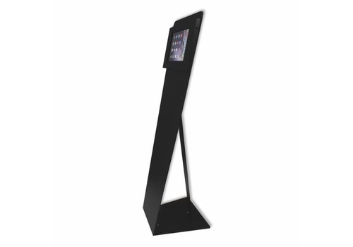 Bravour Vloerstandaard zwart voor tablets tussen 12-13 inch, Kiosk