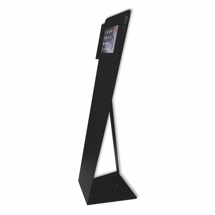 Floor stand for tablets 12-13 inch black Securo-Kiosk