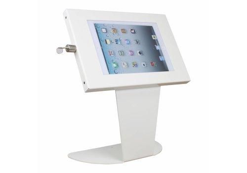 Bravour Soporte de escritorio para mini tablets, kiosk, blanco