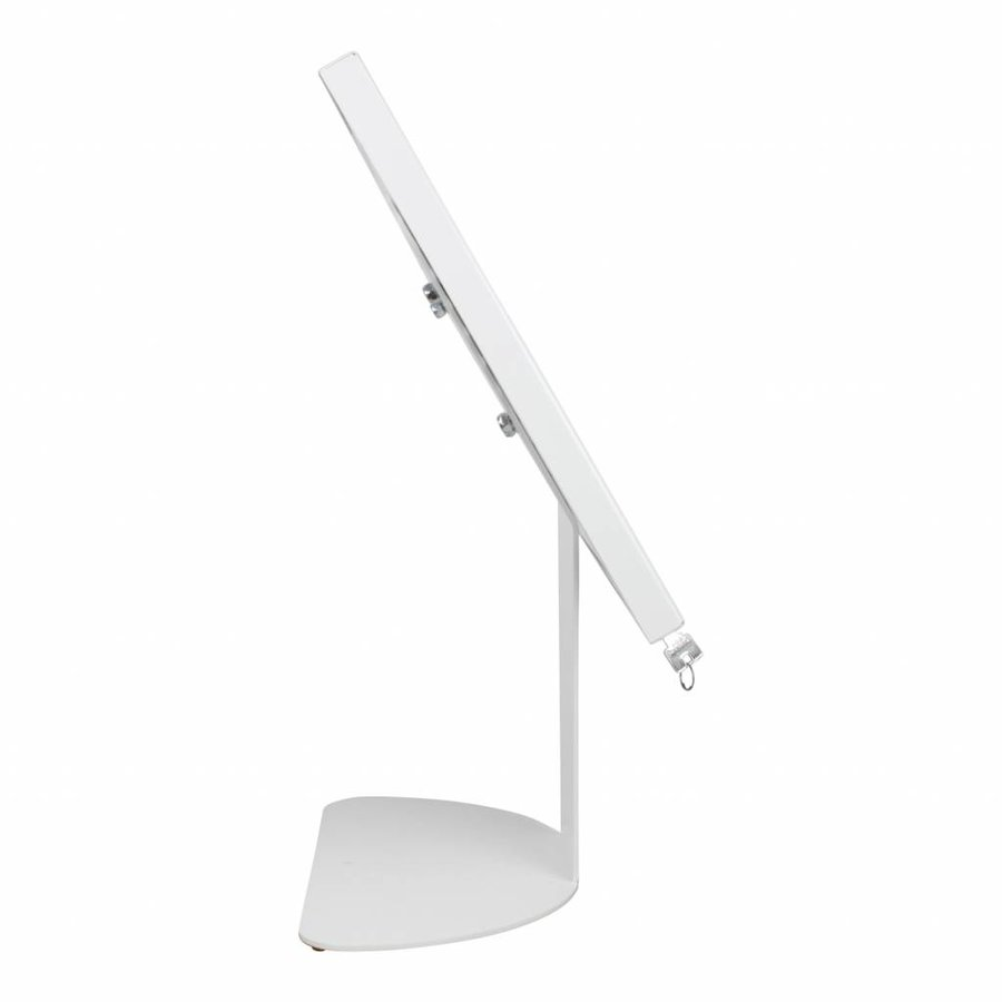 Floor stand for tablets 7-8 inch white Securo-Kiosk