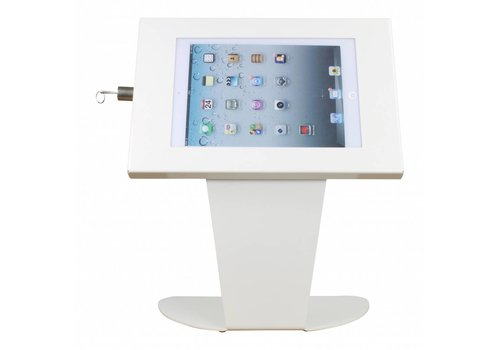 Bravour Floor stand for tablets 9-11 inch white Securo-Kiosk