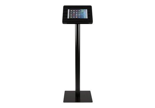 Bravour Standaard zwart voor 9 tot 11 inch tablets, acrylaat cassette op zwart gecoate stabiele voet