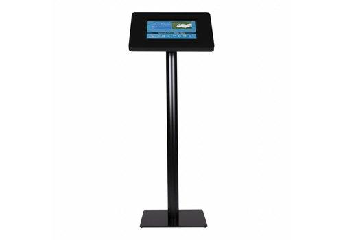 Bravour Standaard zwart voor 12 tot 13 inch tablets, acrylaat cassette op zwart gecoate stabiele voet