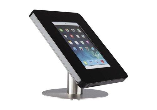 Bravour Soporte escritorio negro/acero para tablets de 9 a 11 pulgadas, Meglio