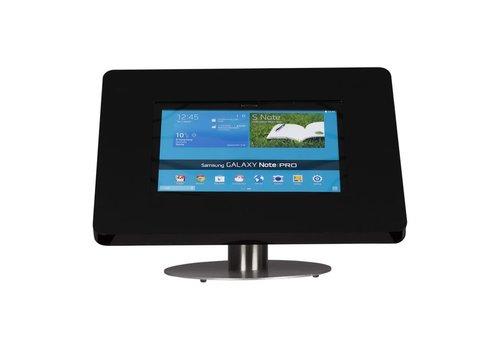 Bravour Soporte escritorio para tablets de 12 a 13 pulgadas, negro/acero, Meglio