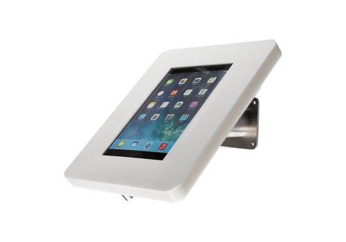 Bravour Soporte escritorio para tablets de 12 a 13 pulgadas, blanco/acero, Meglio