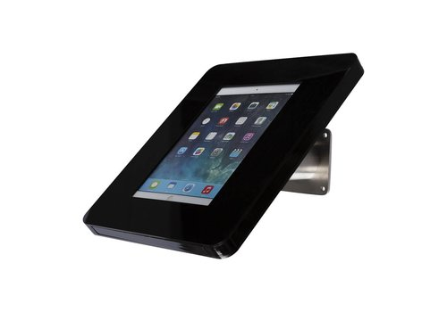 Bravour Wall or desk mount for tablets 7-8 inch black with stainless steel Meglio